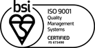 ISO 9001 Certificate badge PARK NOW
