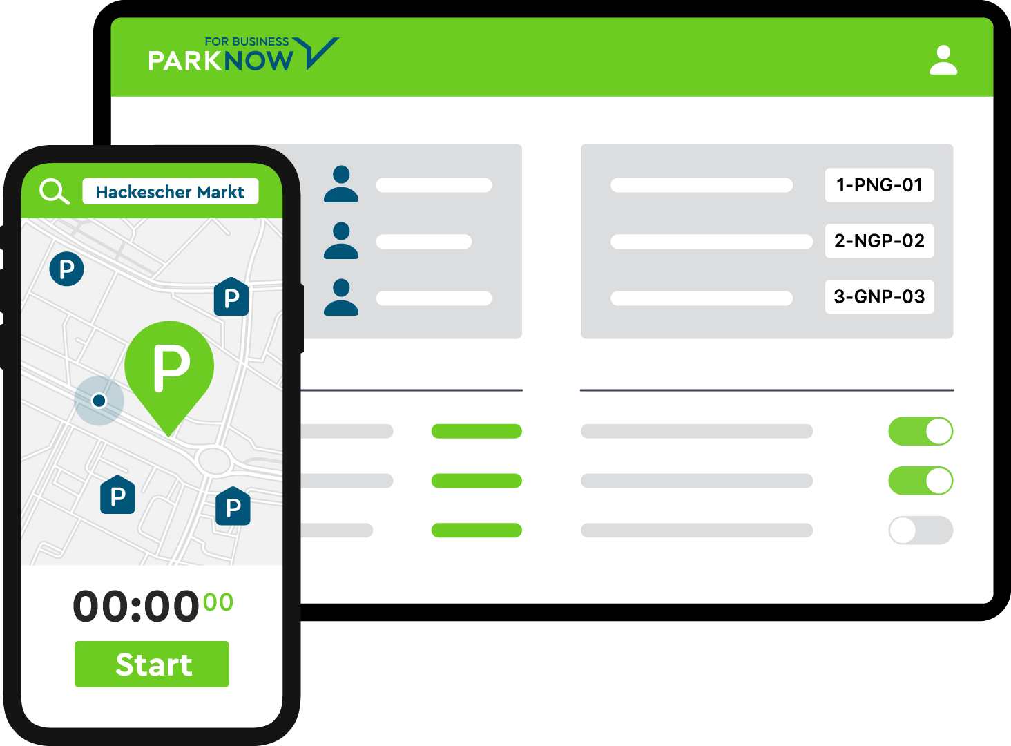 PARK NOW for Business